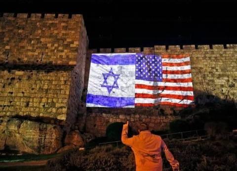 بالصور| رفع العلم الأمريكي والإسرائيلي على أبواب القدس