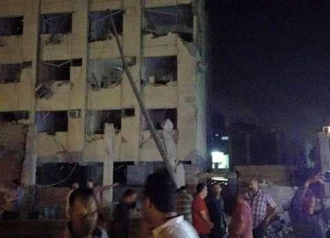 رفع حالة الطوارئ لضبط مرتكبي حادث تفجير مبنى الأمن الوطني في شبرا