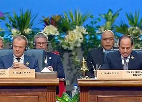عاجل| السيسي يعلن عقد القمة «العربية الأوروبية» الثانية في بروكسل 2022