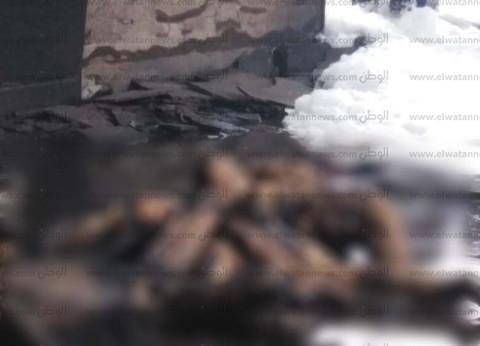 عاجل| وصول أول «جثة متفحمة» لضحايا «حريق محطة مصر» لمشرحة زينهم