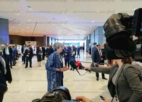 تيريزا ماي: القمة «العربية الأوروبية» خطوة جيدة لتعزيز التعاون