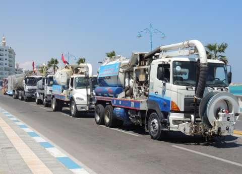 أبو زيد: كمية المياه الواردة لمحافظة مطروح بلغت 84 ألف متر مكعب