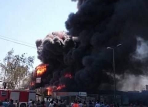 حريق يلتهم 5 أحواش في سوهاج