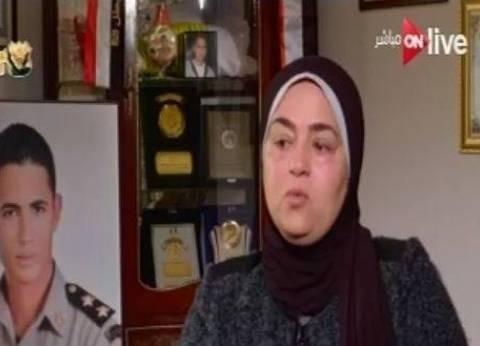 والدة الشهيد محمد عبده: العملية الشاملة سيناء 2018 تمنع خطر الإرهاب