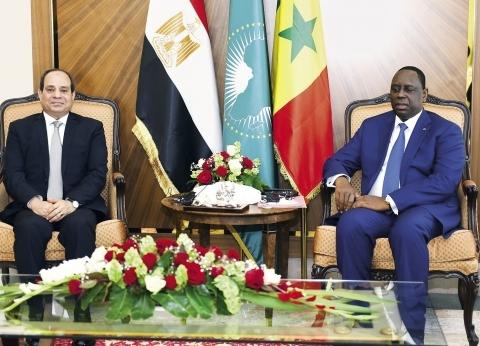 رسالة «السيسى» من السنغال: دعم اقتصادى ومحاربة الإرهاب ونشر التسامح