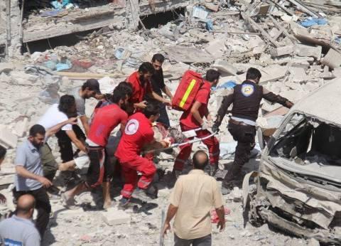 """الهلال الأحمر السوري يجلي 39 شخصا من """"مضايا"""" و""""الفوعة"""""""