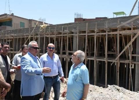 محافظ الشرقية يتابع سير أعمال إنشاء مجمع خدمات بقرية الشوبك