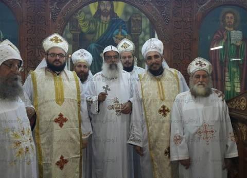 الكنيسة القبطية الأرثوذكسية تُرسّم قُمُّصان جديدان بإيبارشية دير مواس
