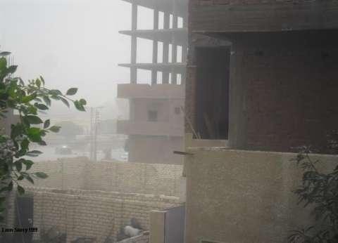 """""""رياح وأتربة"""" تضرب محافظة الوادي الجديد.. و""""الزملوط"""" يعلن حالة الطوارئ"""