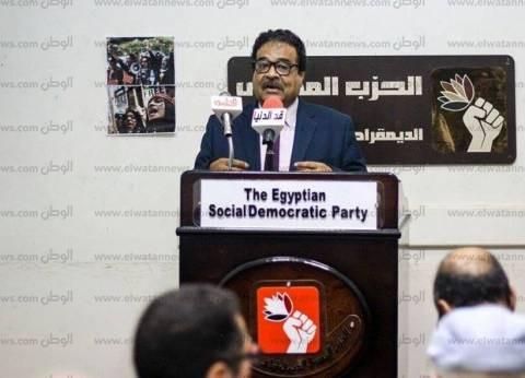 """""""المصري الديمقراطي"""" ينعى شهداء حادث الواحات"""