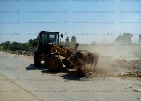 سكرتير مساعد كفر الشيخ يشدد على تكثيف حملات النظافة بالمدن الرئيسية