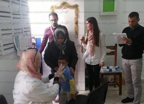 """""""الطب الوقائي"""": محافظة الإسماعيلية خارج تطعيمات """"شلل الأطفال"""""""