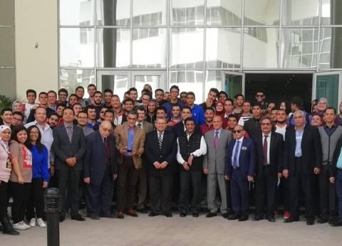 الجامعة المصرية الصينية تنظم يوما رياضيا بمشاركة فاروق جعفر
