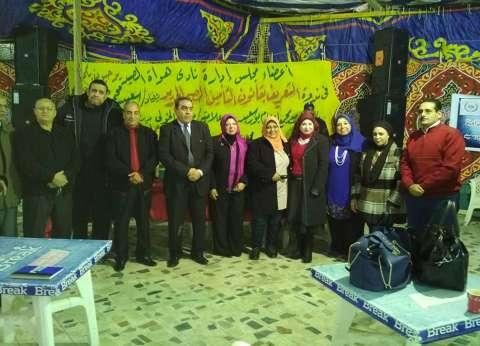 التعريف بقانون التأمين الصحي الجديد في ندوة بمركز إعلام بورسعيد