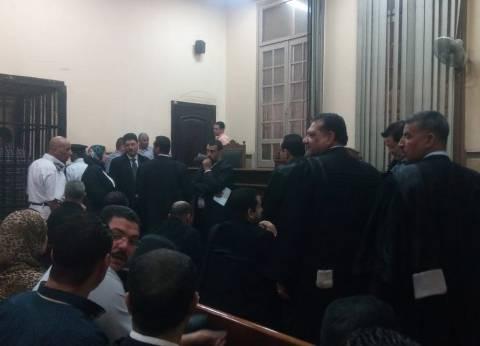 """تأجيل إعادة محاكمة """"دومة"""" في """"أحداث مجلس الوزراء"""" لجلسة الغد"""