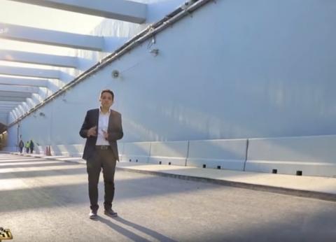 """بالفيديو والصور  """"مصر تستطيع"""" يعرض أنفاق بورسعيد من الداخل لأول مرة"""
