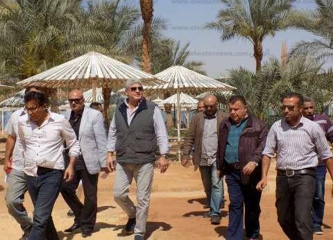 """رئيس """"المركزي للتعمير"""" يزور للمرة الأولى مشروعات جنوب سيناء"""