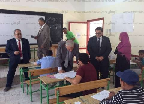 سكرتير عام جنوب سيناء يشيد بانتظام لجان امتحانات الشهادة الإعدادية
