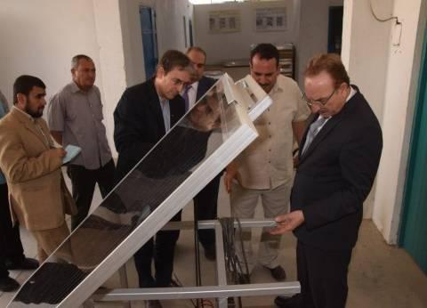 """محافظ بني سويف يزور مؤسسة """"سيكم"""" للاستفادة من خبراتهم"""