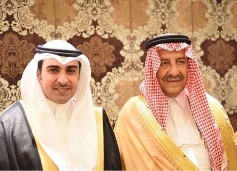 نجوم الفن والشعر يزفون الشاعر السعودي خالد المريخي في ليلة زواجه