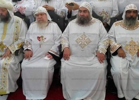 """في قداس أربعين """"فام"""".. الأنبا باخوم يشكر البابا تواضروس ورجال الأمن"""