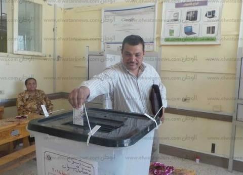 أعضاء اللجنة الفرعية لنقابة الصحفيين بأسوان يشاركون في الانتخابات