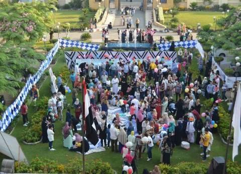 مستشفى الأطفال بجامعة المنصورة يحتفل بعيد الأضحى