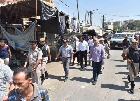 وسط الإسكندرية يشن حملة لإزالة إشغالات الكافتيريات