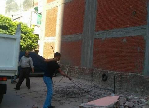 حي وسط بالإسكندرية يشن حملة لإيقاف أعمال هدم بدون ترخيص