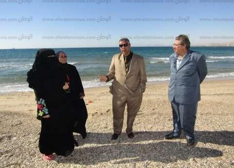 بالصور|  لجنة المتابعة الميدانية بجنوب سيناء تعاين شاطئ مدينة أبورديس تمهيدا لتطويره