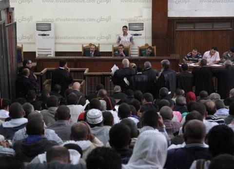 """بدء جلسة محاكمة بديع و738 متهما في قضية """"فض رابعة"""""""