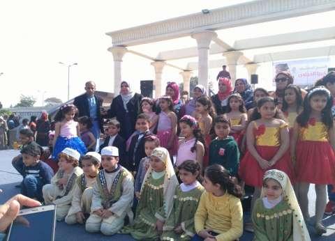 """""""الصحفي الصغير"""".. نشاط للطلاب داخل معرض القاهرة الدولي للكتاب"""