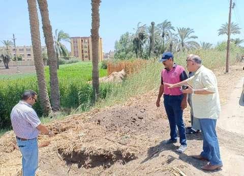 """توصيل خط مياه قرية كفر عبد الخالق بـ""""العدوة"""" في المنيا"""