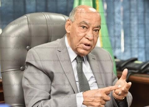 رئيس قضايا الدولة يدلي بصوته في الاستفتاء على التعديلات الدستورية