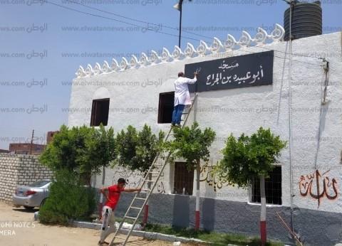 جامعة القناة تستأنف أعمال التطوير بعزبة الصفيح بقرية الفردان