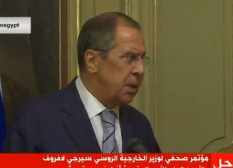 عاجل| لافروف: بحثت مع ظريف الأزمة السورية وتشكيل اللجنة الدستورية