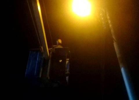 استبدال كشافات الشوارع بأخرى موفرة في حي شرق سوهاج