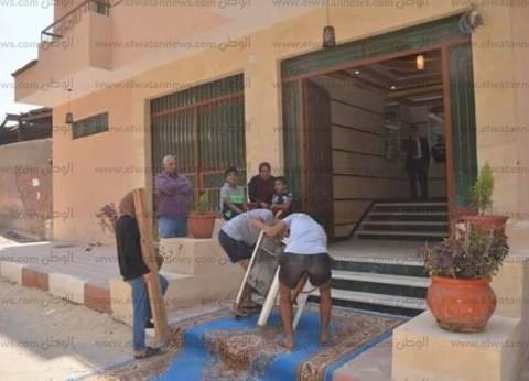 محافظ الإسماعيلية يشهد مراسم تسليم الوحدات السكنية الجديدة