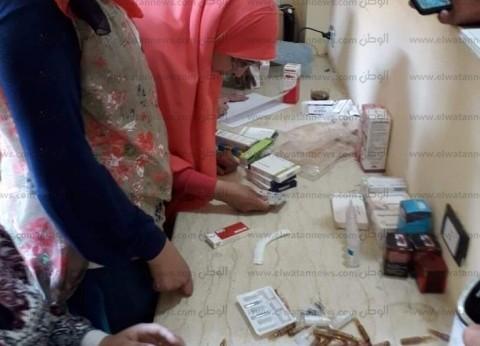 ضبط أدوية بشرية منتهية الصلاحية في البحيرة