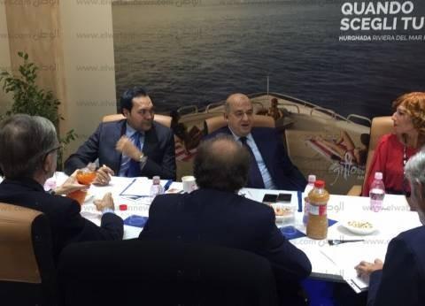 يحيى راشد يلتقي ممثلي اتحاد شركات السياحة الإيطالية