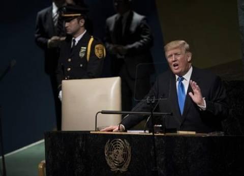 ترامب: أساس النظام العالمي يجب أن يكون دولا «مستقلة» و«قوية»