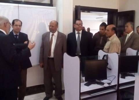 نائب رئيس جامعة الأزهر يتفقد كلية القرآن في طنطا