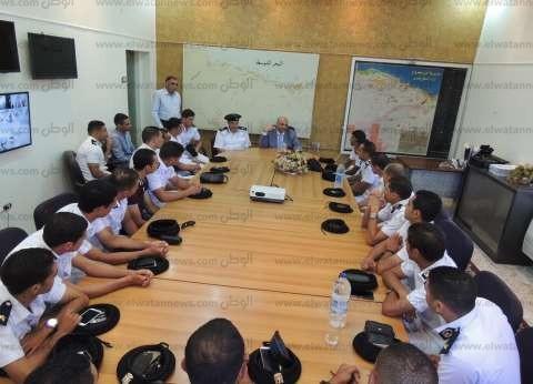 مدير أمن مطروح للضباط الجدد: لابد من إحترام حقوق الإنسان