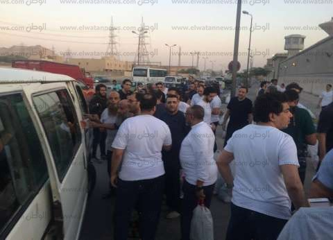 """بالصور  """"الداخلية"""" تبدأ الإفراج عن السجناء الصادر بحقهم العفو الرئاسي"""