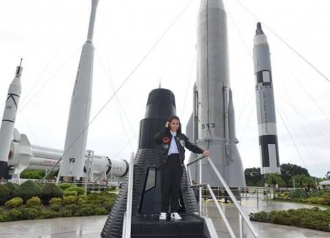 """بالصور  قصة الطفلة الإماراتية التي شهدت إطلاق """"فالكون 9"""" إلى الفضاء"""