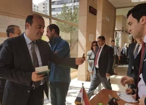 """خالد حنفي يدلي بصوته بالانتخابات في بيروت: """"من أجل مستقبل بلدنا"""""""