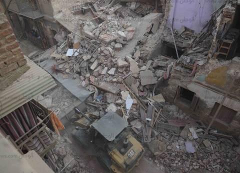 """""""روض الفرج"""": الأسر المتضررة من انهيار العقارات رفضت شقق التسكين المؤقت"""