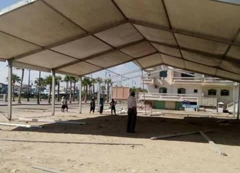 """محافظ دمياط يتابع الاستعدادات النهائية لتنظيم معرض """"ديارنا"""""""