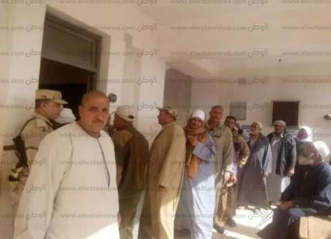 بالصور| إقبال كثيف من الناخبين على لجان كفر الشيخ