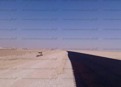 إقامة 9 طرق عرضية لربط الطريق الدولي الجديد بالقديم في جنوب سيناء